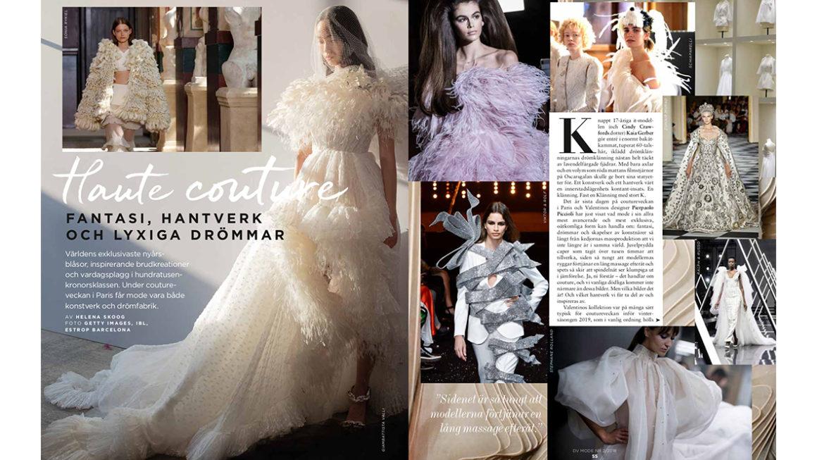 Långläsning: Haute couture – Fantasi, hantverk och lyxiga drömmar