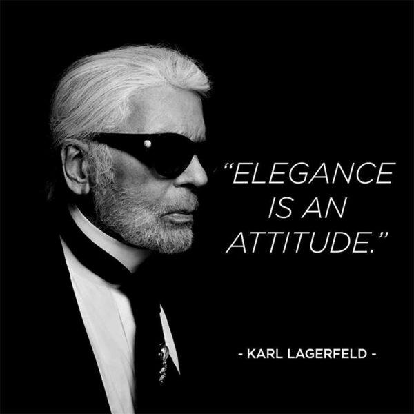Karl Lagerfeld är död