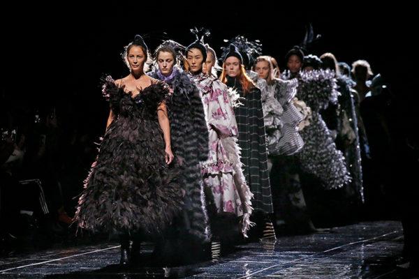 Hej då fultrenden, välkommen tillbaka mode –här är New Yorks bästa visning